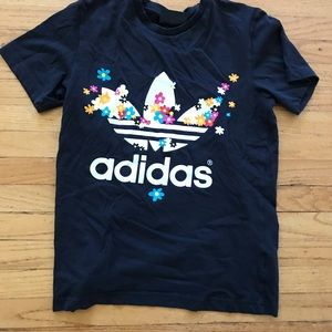 Adidas Floral Logo in small